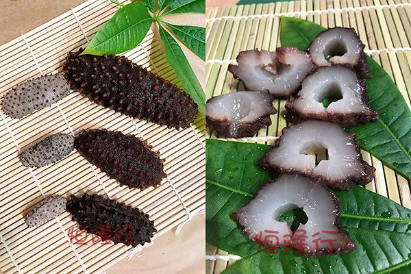 聖地亞哥恆隆參茸行出產的墨西哥梅花刺參。(恆隆行提供圖片)