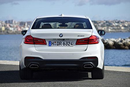 寶馬540i外觀(BMW提供)