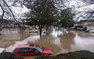 暴雨成灾 多地洪水 硅谷圣荷西宣布紧急状态