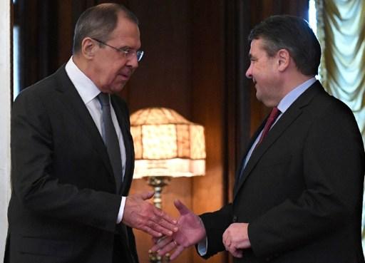 德外长出访莫斯科 以缓解俄国与西方争端