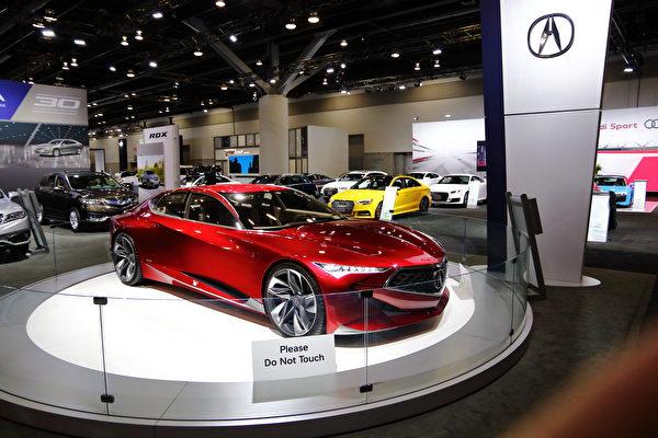 2017年温哥华国际车展 电动车实用跑车酷炫