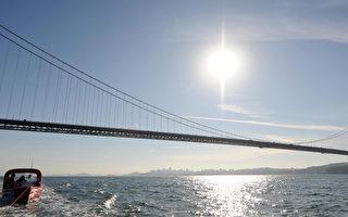 旧金山金门大桥部分人行道周末关闭
