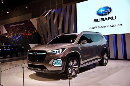Subaru VIZIV-7概念车。(李奥/大纪元)
