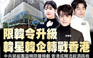 限韩令升级 韩星韩企转战香港