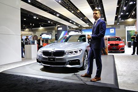 图:BMW 540i。(李奥/大纪元)