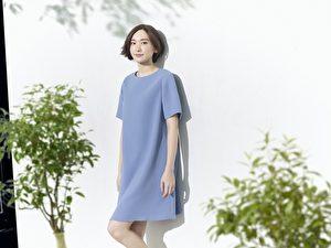 日本女星新垣結衣為日系品牌休閒服飾拍攝2017年春夏全新系列廣告。(UNIQLO公關提供)