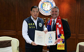 獲永久居留證 前AIT首席官員:全家愛台灣