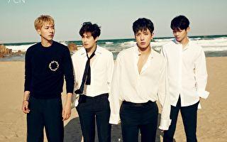 CNBLUE全员回归 新辑横扫8地iTunes冠军