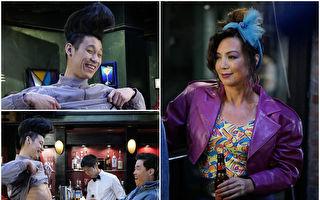 林书豪温明娜客串影集 梳夸张发型联手搞笑