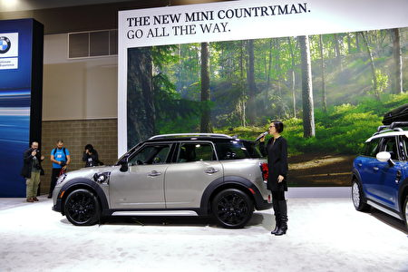 MINI Cooper SE Countryman。(李奥/大纪元)