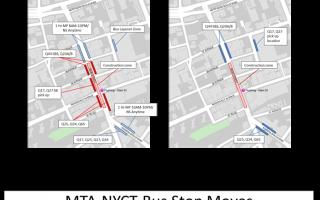 配合人行道扩宽工程 缅街公交站点调整