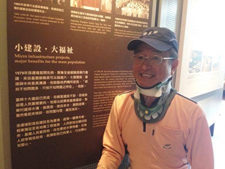 李道霖希望政府让台湾MRI新产业能无中生有、造福人民。(李道霖提供)