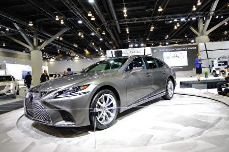 Lexus下一代旗舰车LS500h。(李奥/大纪元)