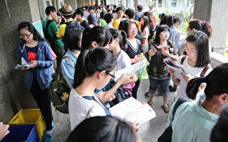 台國中教育會考 24萬人報名創歷年新低