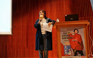 八年級生職涯講座   陶晶瑩分享明星奮鬥史