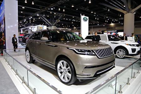 Range Rover Velar概念车。(李奥/大纪元)