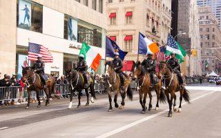 全美最大聖派翠克遊行 曼哈頓變綠海