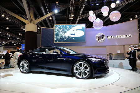 Buick Avista概念车。(李奥/大纪元)