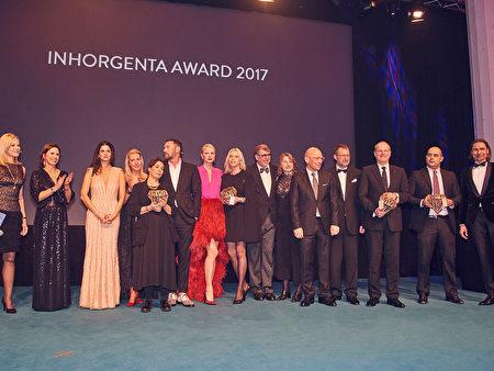 2017年慕尼黑国际钟表、珠宝首饰展会颁奖仪式。(主办方提供)