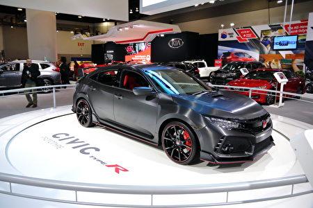 Honda Civic的最强版本Type R。(李奥/大纪元)