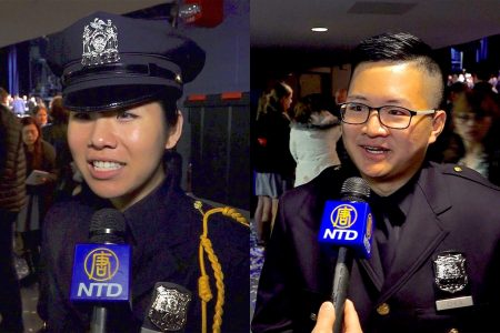 洪珍妮(Jennifer Hong,左)和陳旻昊(右)。