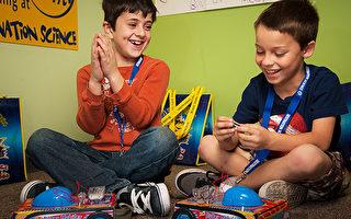 Destination Science科學夏令營帶領孩子激發潛能,度過歡樂暑期。(DS舊金山灣區夏令營提供)