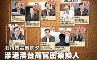 香港特首选举前夕 港澳台高官密集换人