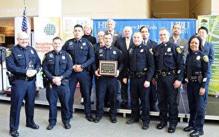 西南管理區表彰警員大會 Provost副局長宣布榮退