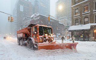 纽约明日公校停课 地铁改线