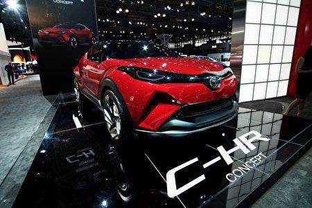Toyota C-HR。(JEWEL SAMAD/AFP/Getty Images)