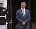 馬來西亞副總理兼內政部長阿瑪扎希(Ahmad Zahid Hamidi)。(OLIVIER DOULIERY/AFP/Getty Images)