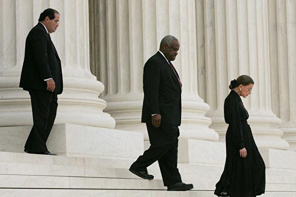 聚焦美国高院大法官及身边的36名助理