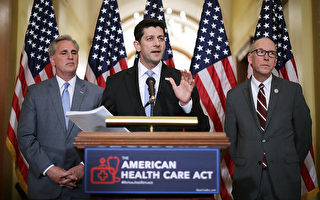 川普健保法案 眾議院闖過頭兩關