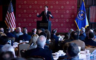 美國聯邦調查局局長科米(James Comey)週三出席一場網絡安全會議,表示還要做6年半,直到任期結束為止。(Darren McCollester/Getty Images)