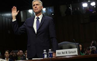 美大法官提名人首次參院聽證 獲共和黨力挺
