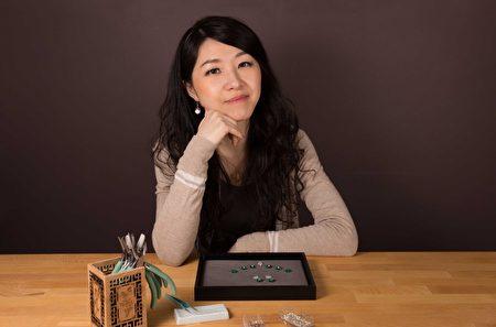 Ariel Tian 在自己的工作室。(Ariel Tian提供)