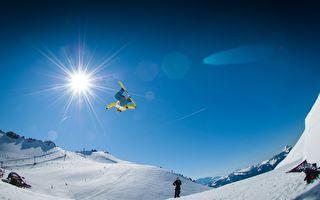 18岁男完成超高难度滑雪动作 世界第一人