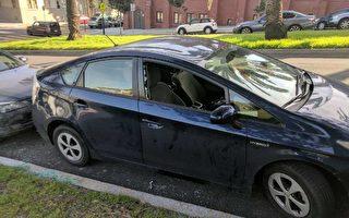 舊金山警方稱砸車窗盜竊案略降 無助安全感