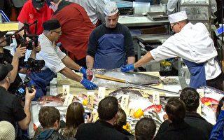維州Wegmans壽司節 體驗築地生鮮魚片