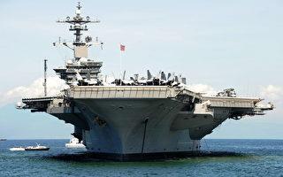 围堵朝鲜 美两艘核航母将在日本海会师军演