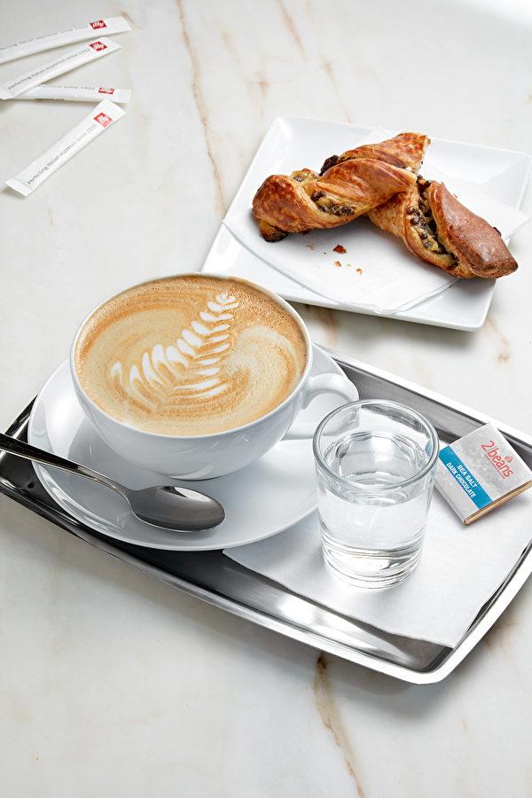 在这里可以享受到欧式的Illy咖啡。(双宾氏提供)