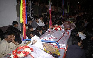 巴基斯坦市場汽車炸彈爆炸 增至22死70傷