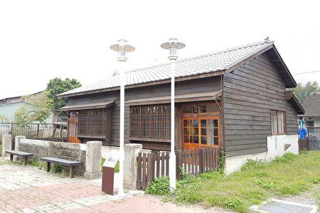 经整修后百年驿站边的眷属员工宿舍。(李芳如/大纪元)
