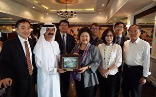 陳菊率團訪杜拜 DPW投資高雄興趣濃