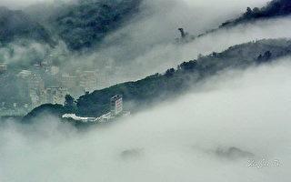 台湾马祖雾季之美 犹如国画泼墨山水