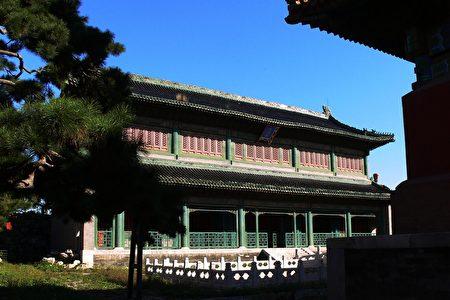 北京故宫文淵閣。(公有領域)