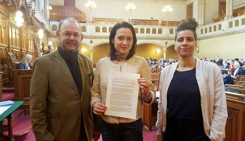 维也纳市议会决议案反对中共非法器官交易