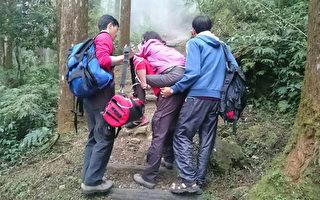 婦健行摔傷 救護員人力背負逾1公里