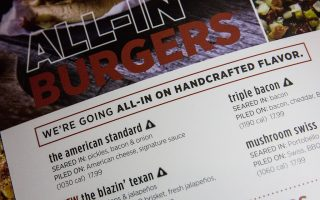 连锁餐厅高盐食物标签 市府胜诉