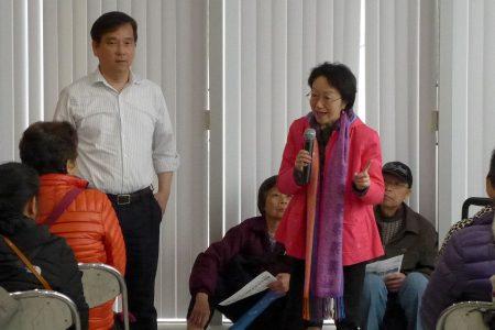 市議員陳倩雯說,民眾大排長隊到亞平會辦申請,突顯民眾對廉租屋、老人公寓的強烈需求。
